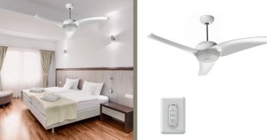 dicas de instalação de ventilador de teto